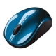 Logitech V470 Bluetooth Cordless Laser Mouse for Notebooks - Blue